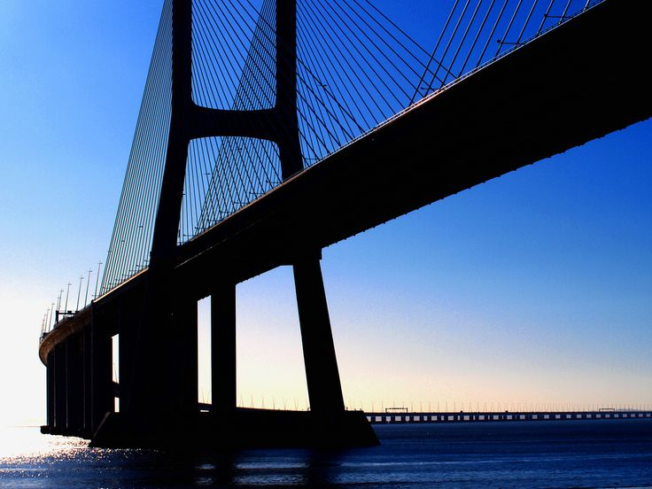 https://flic.kr/p/6Xk4MA | Another View... | ...of Tagus River and Vasco da Gama's Bridge from Parque das Nações. Olympus E-420
