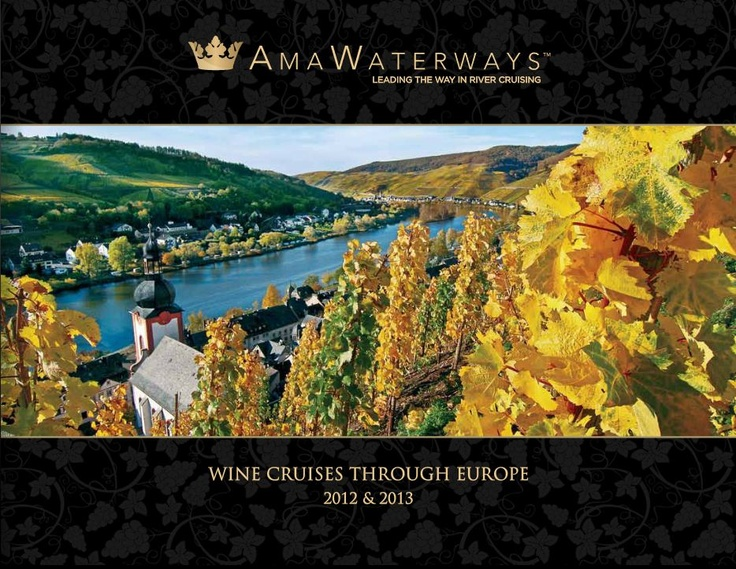 Peaceful and scenic, river cruising offers a smooth, gentle ride along the world's most remarkable waterways. Supreme comfort and convenience make it the premier way to experience magnificent cities, historic villages and little-seen enclaves.  #Cruise #River Cruising #AMA Waterways #Wine #Europe