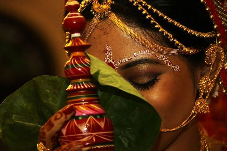 Beautiful Bengali bride, Indian bride