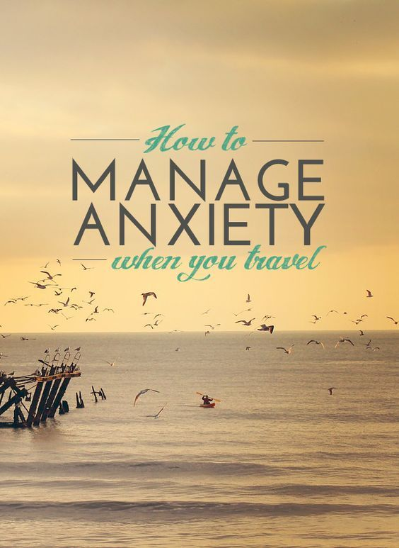 A personal post about managing anxiety whilst travelling.