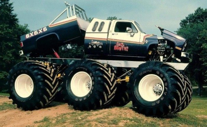 You never saw the Big Brutus 6x6x6 Monster Truck on Monster Jam!