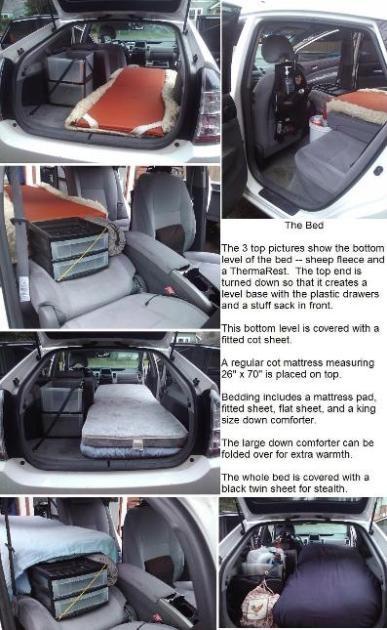 Cheap Green RV Living - Prius