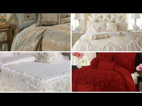 Latest Fancy Bed Sheets Designs Bridal Fancy Bed Sheet Design