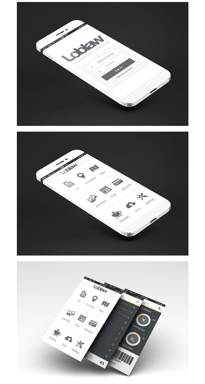 #Mobile #UI #design #App