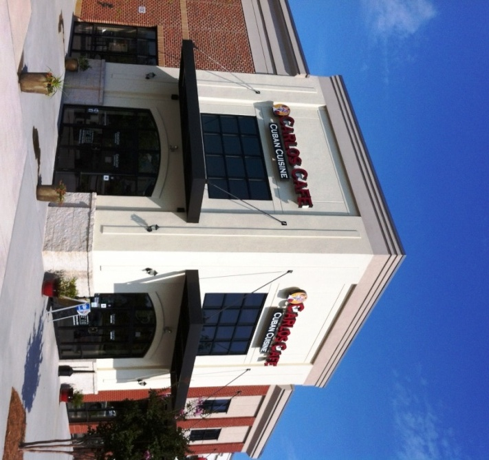 Carlos Cafe restaurant design build construction project in Tega Cay, SC from Ferrara|Buist Commercial General Contractors.