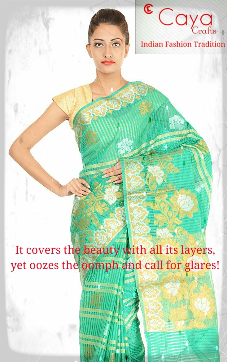 Get #beautiful #banarasi #sarees on #CayaCrafts . For more details please log on to www.CayaCrafts.com