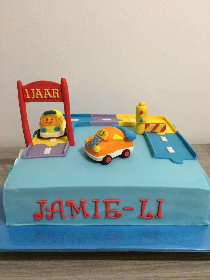 V Tech Toet Toet auto cake