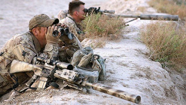 Canadian snipers in Afghanistan.
