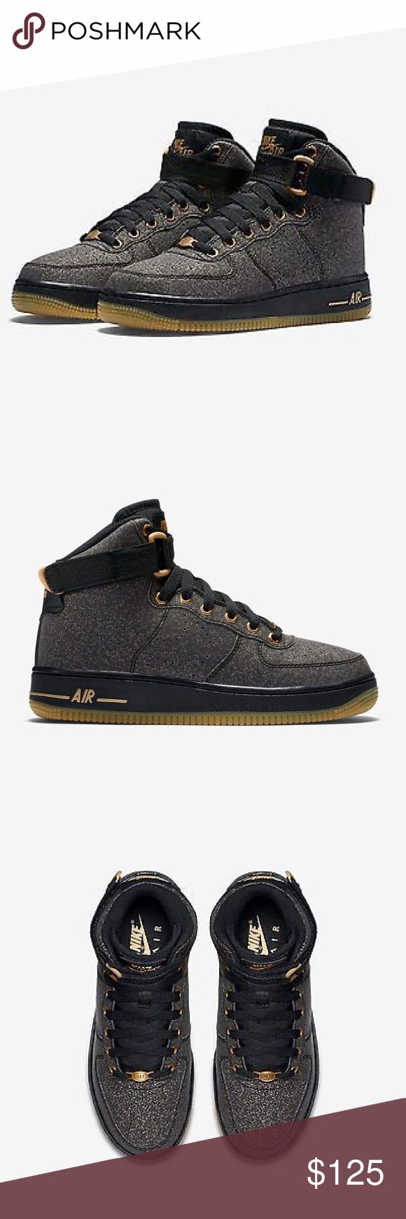 NIKE AIR FORCE 1 HIGH SHOES HIGH TOPS WOMENS SIZE8 Shoes are a size 6.5 youth. Which is a women's size 8. I posted a sizing chart for your convenience. Brand new without box. 100% authentic Nike Shoes Sneakers