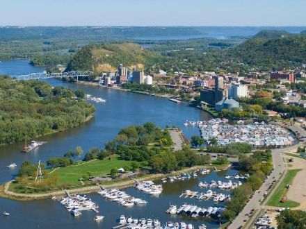 Enjoy Red Wing Minnesota vacations in this flower filled river town that is one of the most beautiful on the Mississippi River.