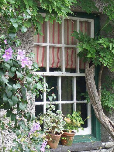 Casa de Beatrix Potter. El Distrito de los Lagos, Reino Unido