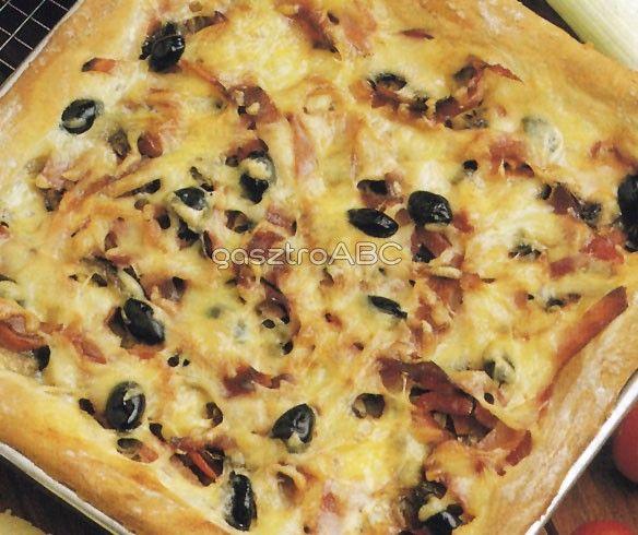 Vastag pizza   Receptek