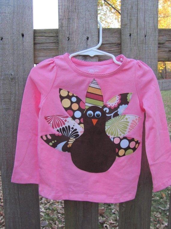 Girl or Boy Thanksgiving Turkey t shirt or pillowcase by hnhdaisy & 30 best DIY SHIRTS images on Pinterest | Diy shirt Christmas bows ... pillowsntoast.com