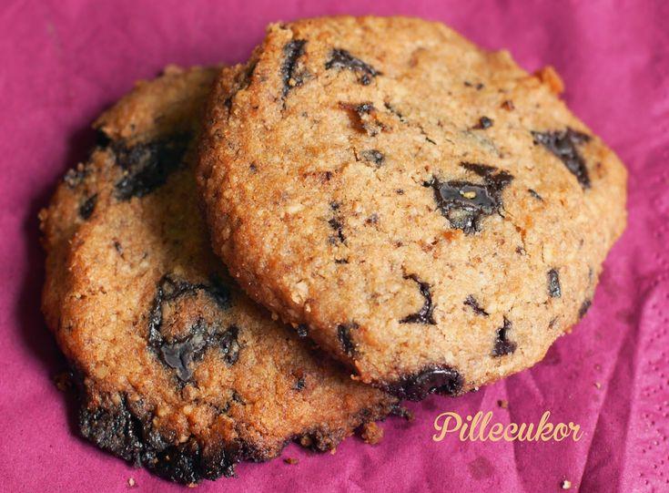 Csokis omlós keksz - MINDENMENTES