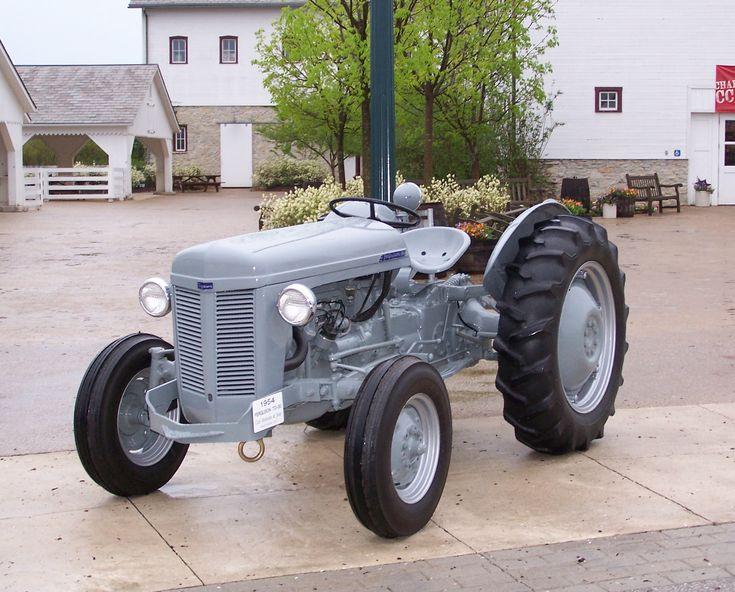 1958 Ferguson Tractor Attachments : Best images about ferguson tractors on pinterest old