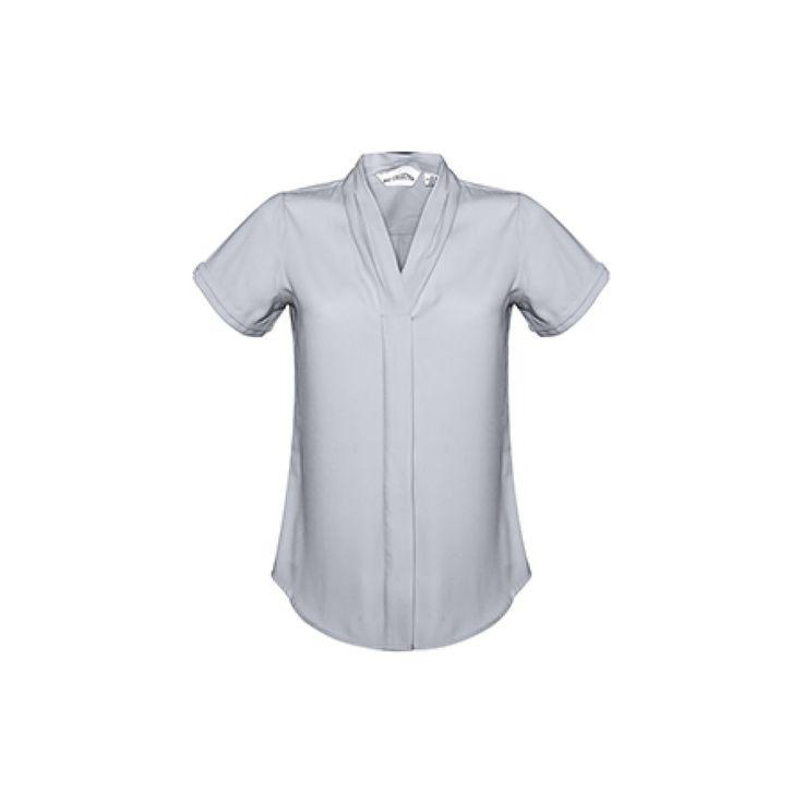 BIZ Collection Ladies' Madison Short Sleeve Blouse – S628LS