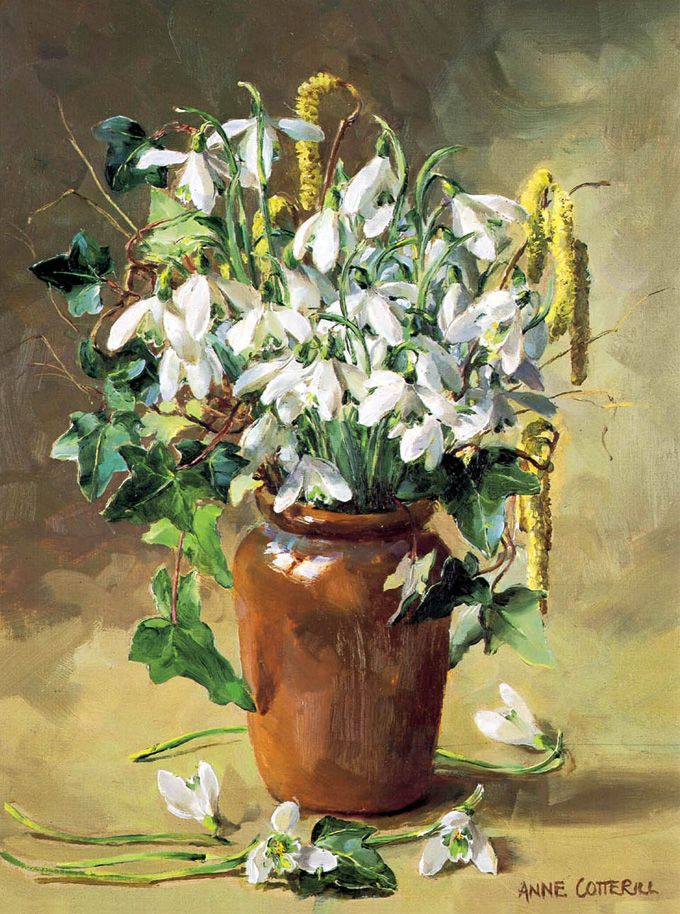 Gallery of Anne Cotterill Reproduction Flower Prints and Fine Art Cards.   Mill House Fine Art – Publishers of Anne Cotterill Flower Art