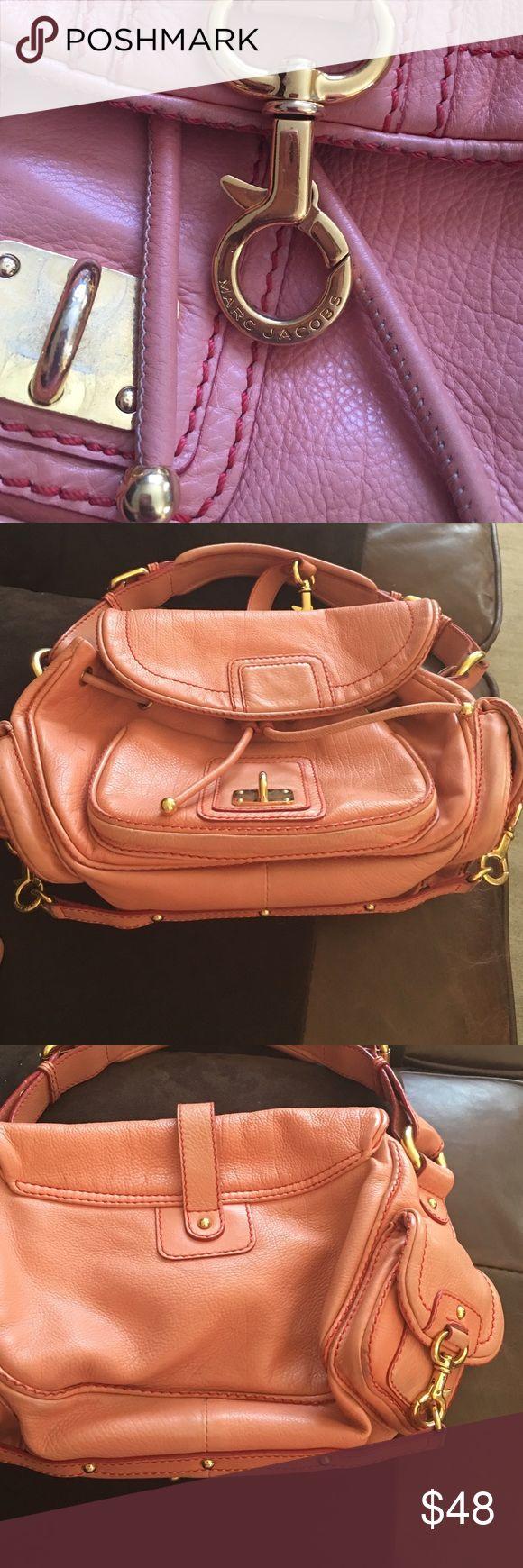 Marc Jacobs purse Salmon leather Marc Jacobs purse Bags Shoulder Bags