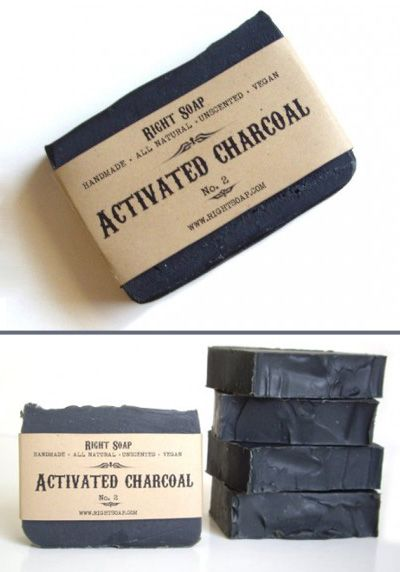 Right Soap - Activated Charcoal No.2