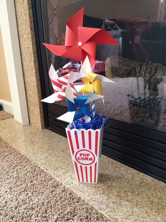 Hey, I found this really awesome Etsy listing at https://www.etsy.com/listing/185644737/carnival-centerpieces-circus-birthday