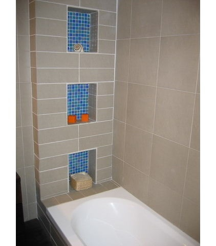 bathroom decorative tile cut out storage in shower tiles bathing 10526