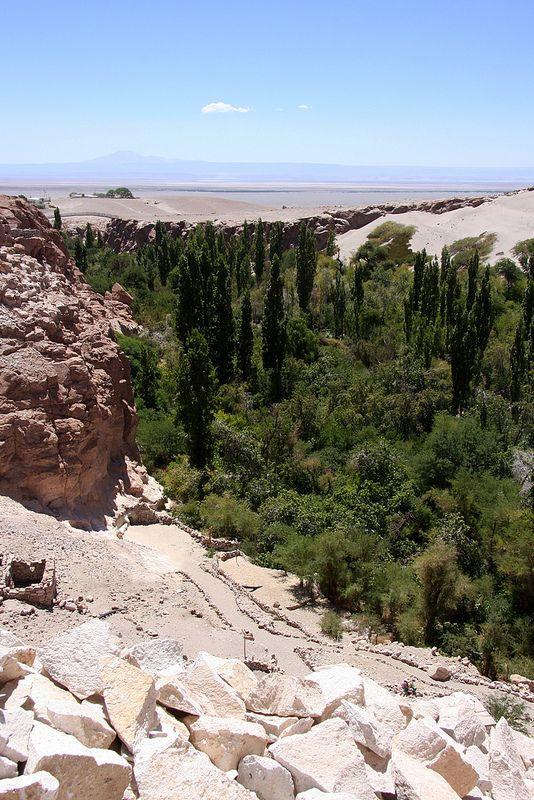 Valle Verde near San Pedro de Atacama, Chile