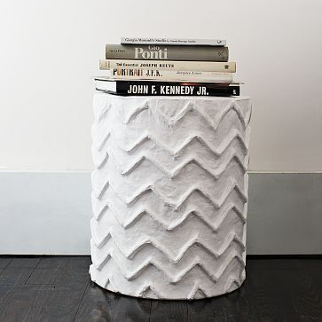 drum table in the bedroom: Design Inspiration, Dogs Side, Diy End Tables, Paper Mache, Mache Side, Papier Mache, Side Tables For, Diy Projects, West Elm