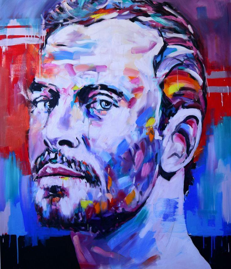 Jerson Jimenez, 2017, Oil on Canvas, 160x130 cm.