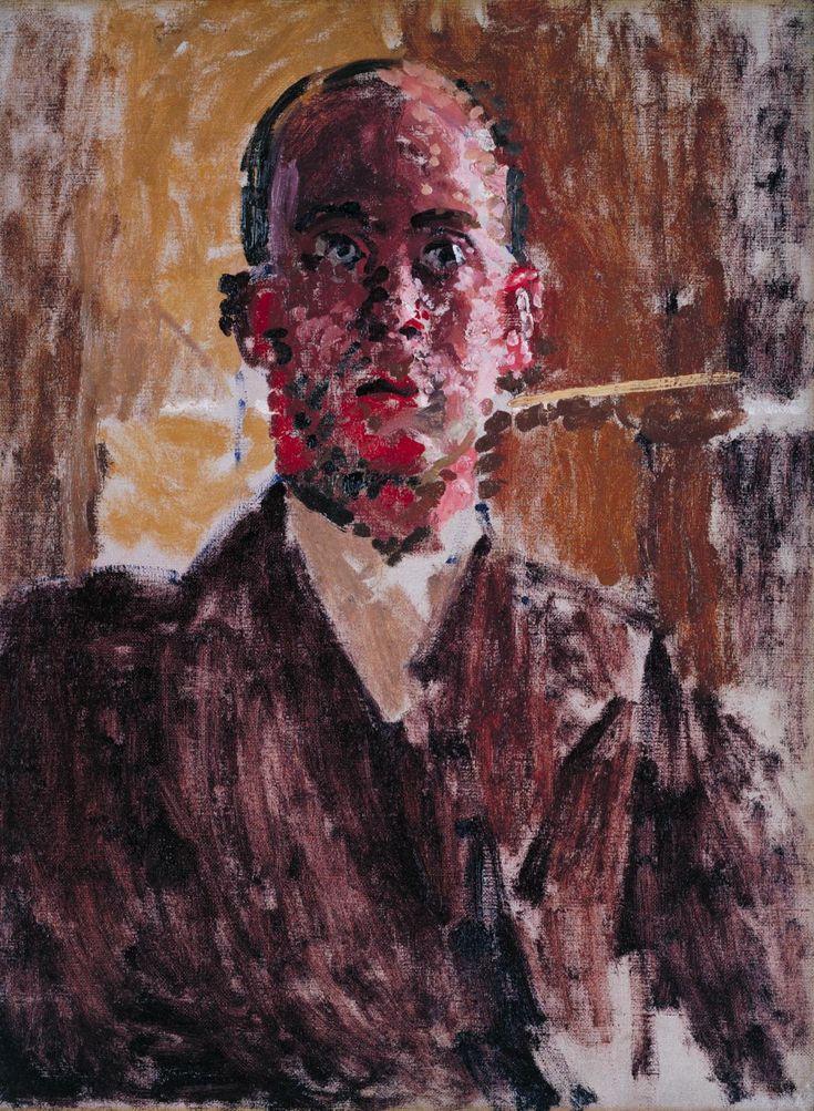 Walter Sickert, [Portrait of ] Harold Gilman, c.1912, Oil on canvas, 61 x 45.7 cm (Tate)