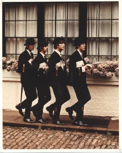 """The Beatles - Taken for a """"Saturday Evening Post"""" story"""