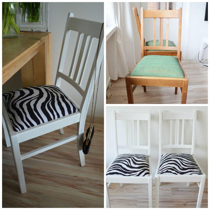 DIY chair http://www.foodandotherfriends.nl/diy/diy-kringloop-stoel-opknappen/