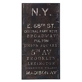 DIY Subway ArtWall Art, Art Knock, Zoey Riley, Subway Signs, Subway Art, Gallery Win, Canvas Art, New York, Art Tutorials