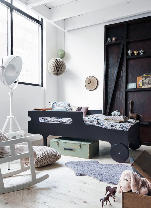 Playful bed and smart kid's room