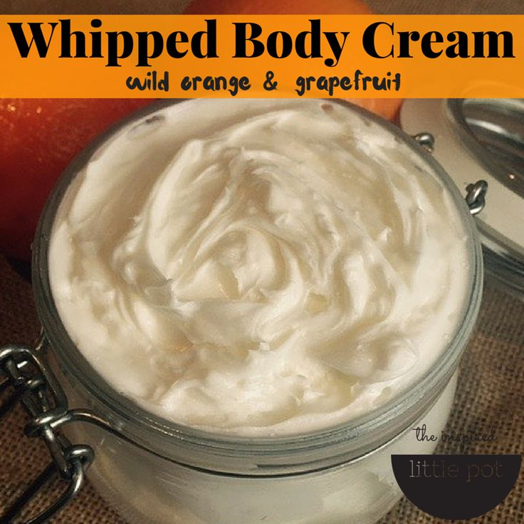 Whipped Body Cream – Orange & Grapefruit