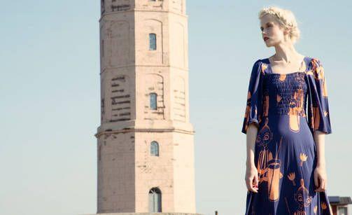 Moomin clothes for adults. It looks like Ivana Helsinki's new collection ----Muumivaatteita aikuisille! Tältä näyttää Ivana Helsingin uusi mallisto ---