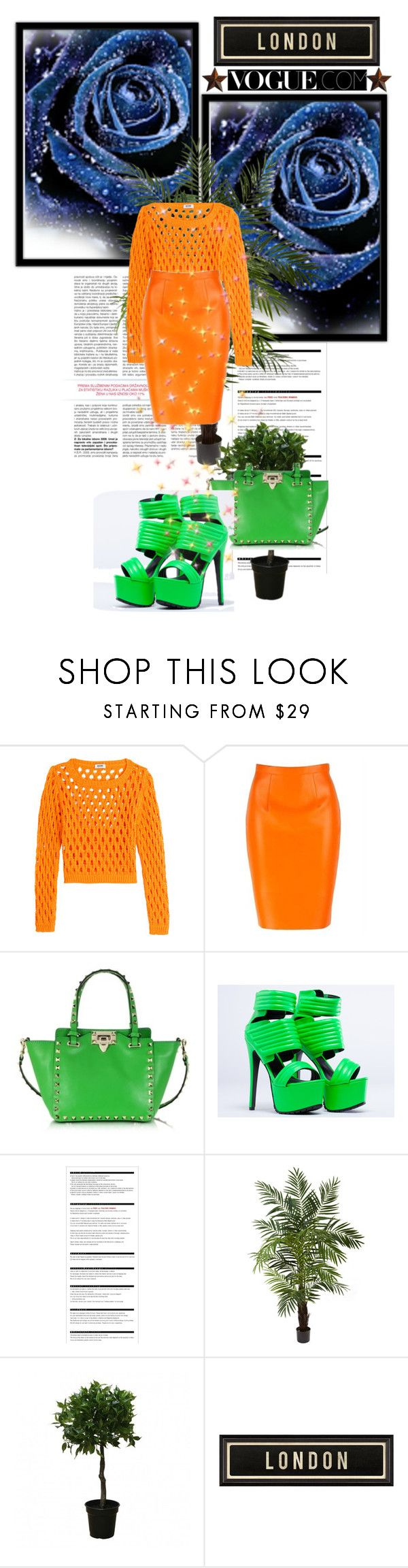 """Untitled #52"" by azrahadzic ❤ liked on Polyvore featuring Moschino Cheap & Chic, Valentino, Jennifer Chou, Arche, Nearly Natural, Brucs, Spicher and Company, Diane Von Furstenberg, Universal Lighting and Decor and GoFortheBold"