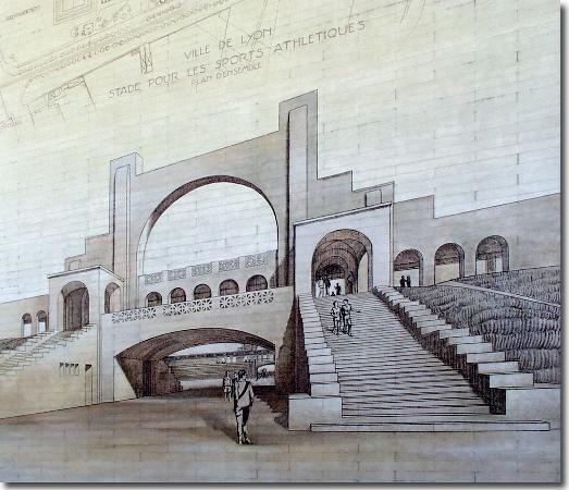 Protorracionalismo Tony Garnier (1869-1948) Estadio Olímpico (1913)