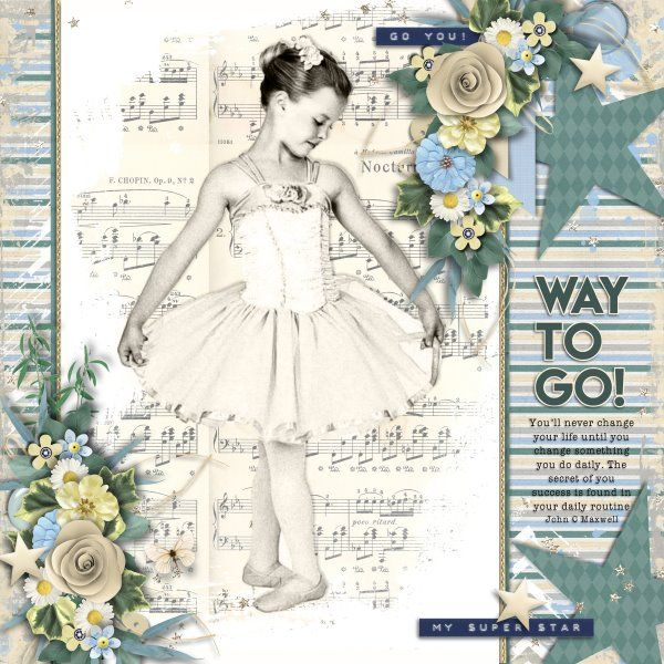 Template and Kit Proud of You by Heartstrings Scrap Art.