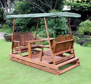 outdoor glider with canopy – Patio Swings With Canopy