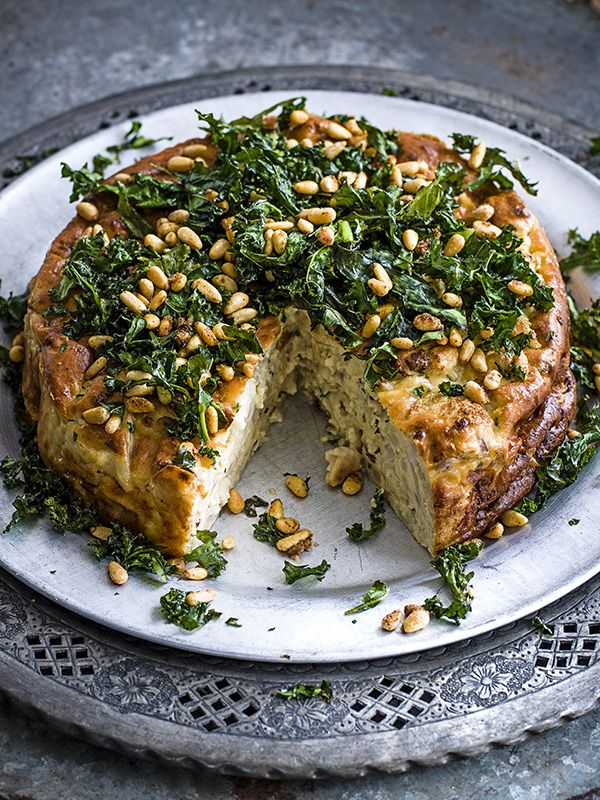 Think of a sformato as a little like a cross between a dense soufflé and a crustless quiche. The term literally means 'unmoulded' in Italian, which doesn't sound half as romantic when you translate it. It can be made with all sorts of vegetables and makes a really impressive vegetarian main course.