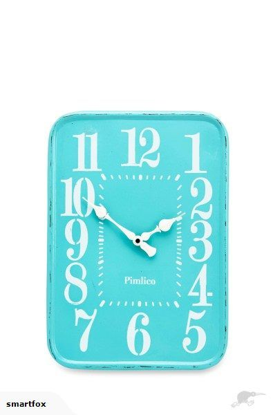 Iron Wall Clock SEAFOAM - Medium | Trade Me