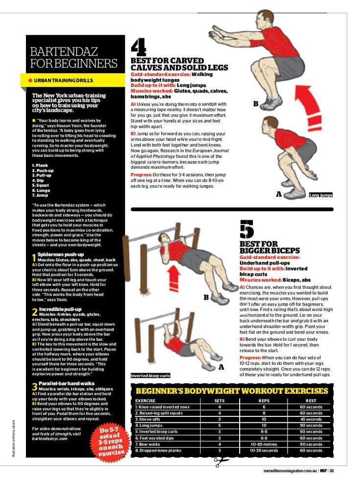 Your Body is Your Gym Workout - Men's Fitness Magazine-Your Body is Your Gym Workout - Men's Fitness Magazine