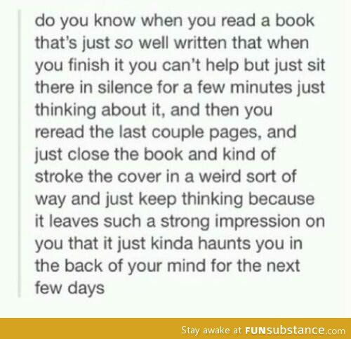 I love this feeling