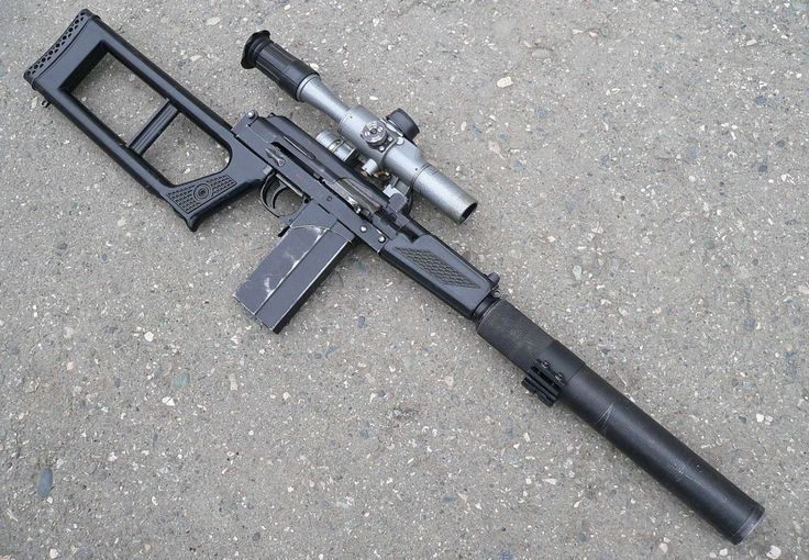 "rusmilitary: "" VSK - 94, suppressed sniper rifle for, based on 9A-91 assault…"