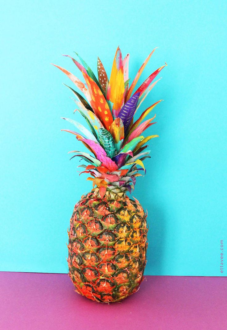 Series of Colorful Illustrative Exotic Fruits – Fubiz Media