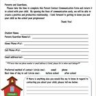 This is an editable Parent Contact Information Form to send home with students at the beginning of the year.  Form can be sent home as-is or can be...