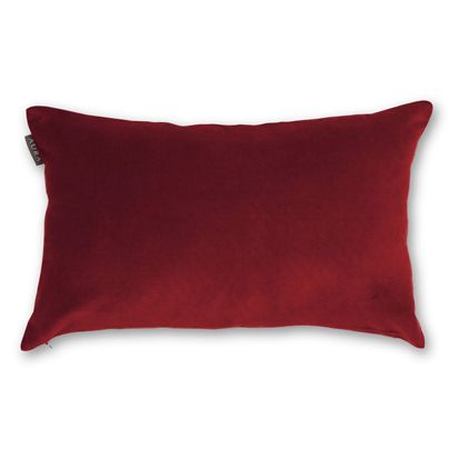 30x50cm Velvet Linen cushion Flame
