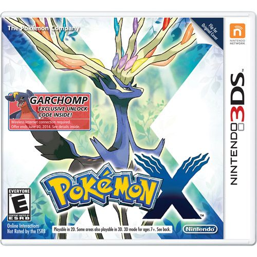 Pokemon X - Wal-Mart Exclusive (Nintendo 3DS): Games : Walmart.com