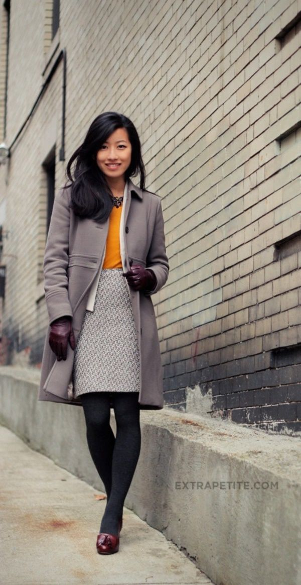 Perfect and Unboring Winter Office Outfits