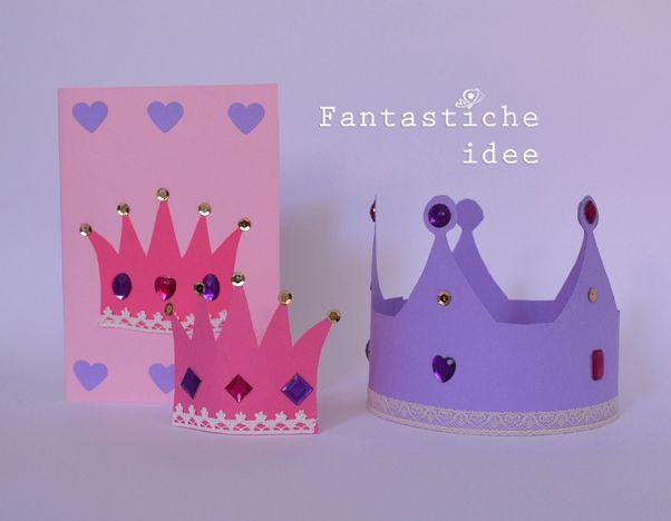 Fantasticheidee   Un compleanno da principessa (inviti)